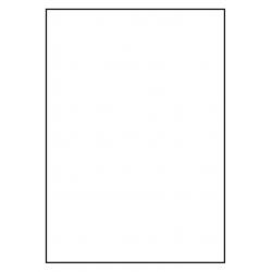 210 x 296mm 1 p. feuille 1.000 feuilles p. boîte