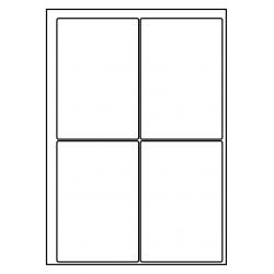 95 x 140 mm  1.000 vel per doos (vrijstaand)  (Velpacode: 189514