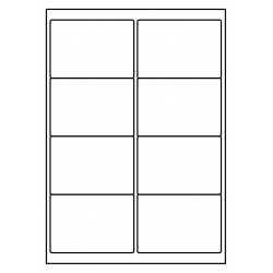 100 feuilles p.boîte PolyMasterVinyl Transparent Clair 99 x 68