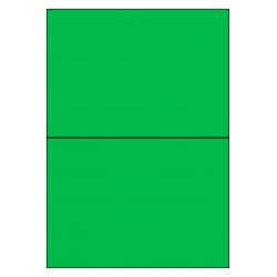 210 x 148 mm 100 feuilles p.boîte VERT