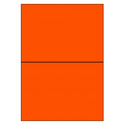 210 x 148 mm  100 sheets p. box ORANGE FLUO