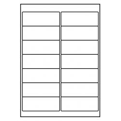 100 feuilles p.boîte PolyMasterVinyl Transparent Clair 99 x 38