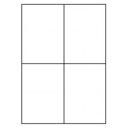 105 x 148 mm 200 p. boîte Polyethyleen