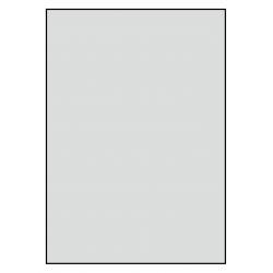 210 x 296 mm 50 feuilles p.boîte ALUMINIUM