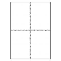 105 x 148 mm Cartes Postales 100 feuilles p.boîte a 4 cartes