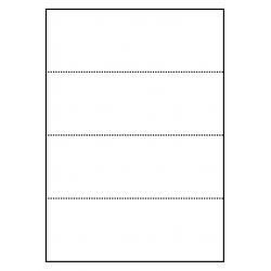 Cartes de rayonnage 100 feuilles p.boîte a 4 cartes