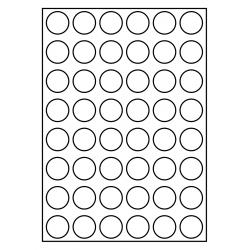 30 mm rondes 100 feuilles p.boîte