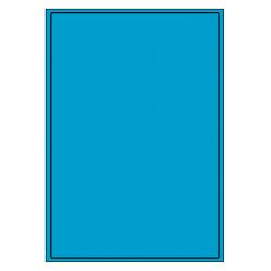 199 x 289 mm 100 feuilles p.boîte BLEU