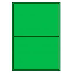 199 x 143 mm 100 feuilles p.boîte VERT