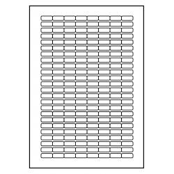 21 x 9 mm 100 feuilles p.boîte AMOVIBLE