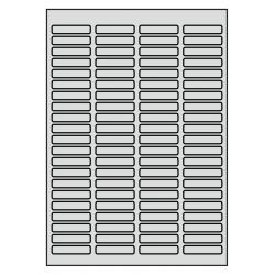 46 x 11 mm 50 feuilles p.boîte Aluminium