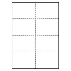 Cartes avec micro-perforation pour badges 105 x 74 mm