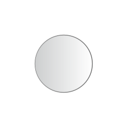 30 mm rondes Transparent Clair 2.000 p. rôle
