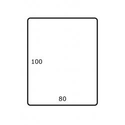 80 mm x 100 mm Papier Brillant 1.750 par rouleaux