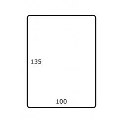100 x 135 mm 1.000 par rouleaux Polyester Mate