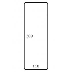 110 mm x 309 mm 500 par rouleaux Papier Brillant