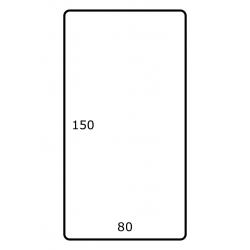 80 mm x 150 mm 500 par rouleaux Polyester Mate