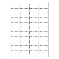 Cartes de rayonnage 50 x 25 mm 100 feuilles p. boîte