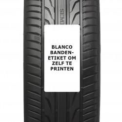 Plastique pneus étiquettes 80 x 150 mm. VIDE 500 étiquettes par rouleau